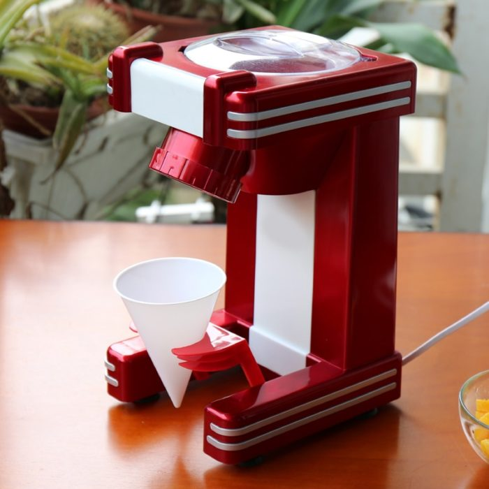 Snow Cone Maker Electric Ice Crusher