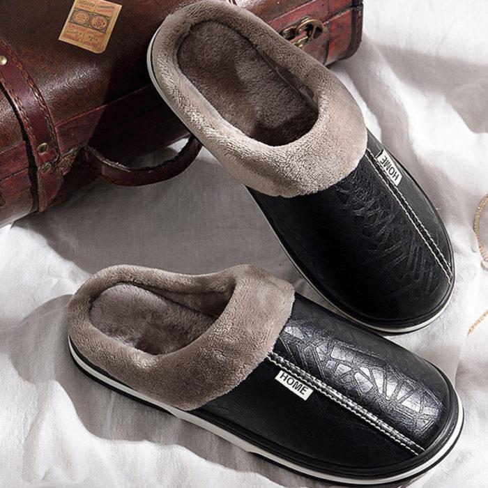 Men's Slippers Indoor Footwear