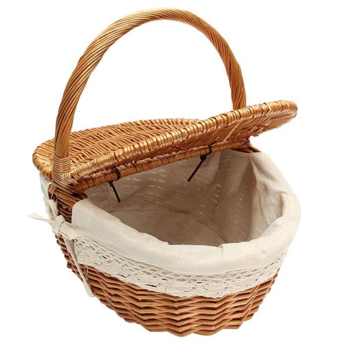 Picnic Hamper Wicker Basket