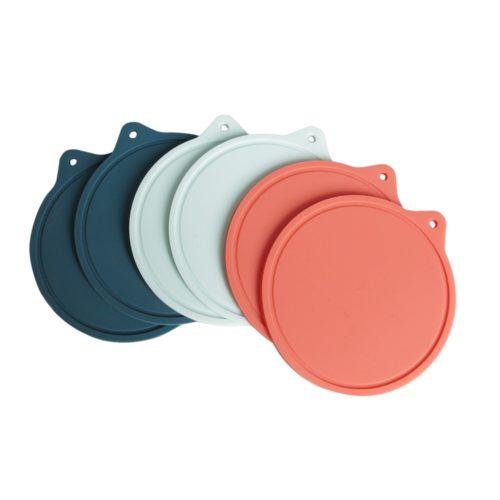 Tea Coasters Silicone Non-Slip Round Coasters
