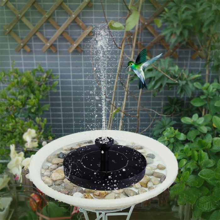 Solar Bird Bath Fountain Pump