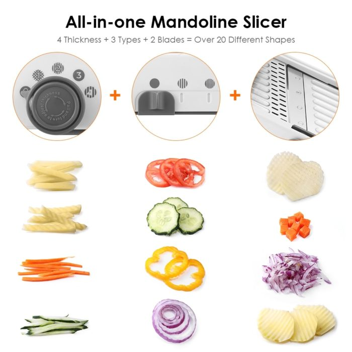 Mandolin Kitchen Tool Manual Slicer