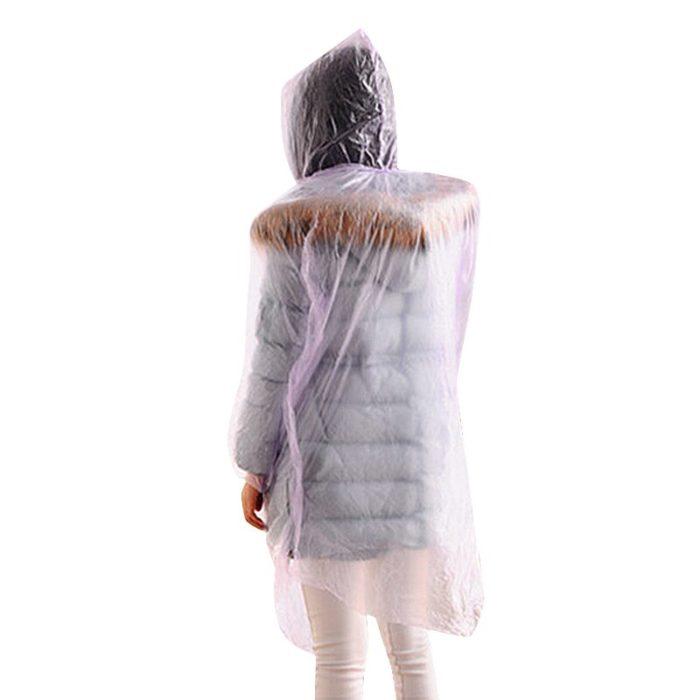 Disposable Raincoat Transparent Jacket (1pc)