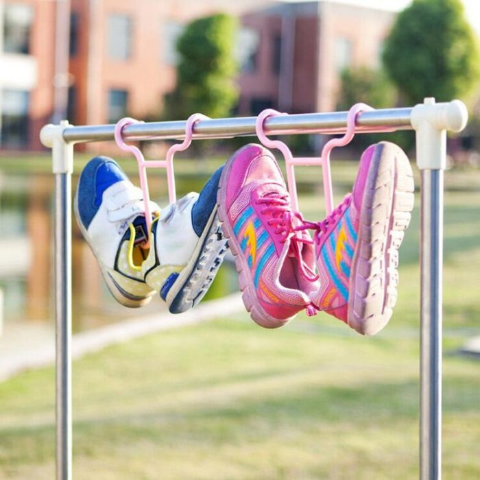 Shoe Hanger Drying Rack Two-Way Use