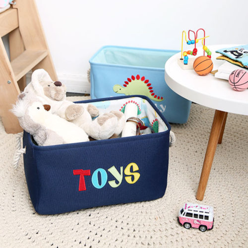 Kids Storage Basket Toy Organizer
