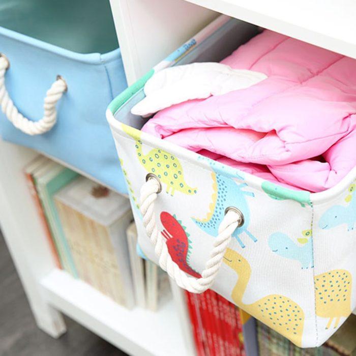 Kids Storage Basket Toy Organizer