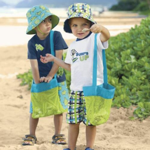 Kids Beach Bag Mesh Net Bag
