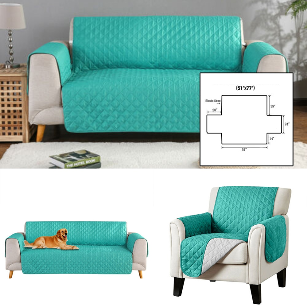 Waterproof Sofa Cover Anti Slip Quilted