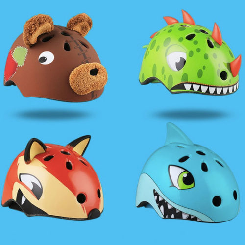 Kids Bike Helmet Cute Animal Design