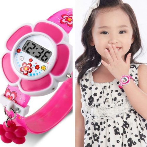 Cute Digital Watch for Girls