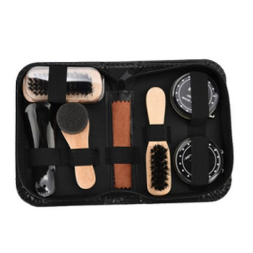 Shoe Polish Kit Brush Cleaning Set