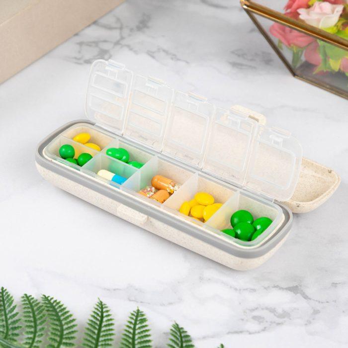 Travel Pill Box Medicine Organizer