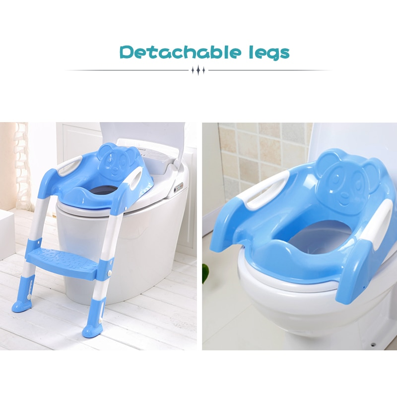 Portable Potty Seat Reusable Travel Toilet Seat Toilet Training Seats Portable Potty Travel Toddler Toilet Seat Pads For Toddlers Boys Girls Blue Baby Products Potty Training Step Stools