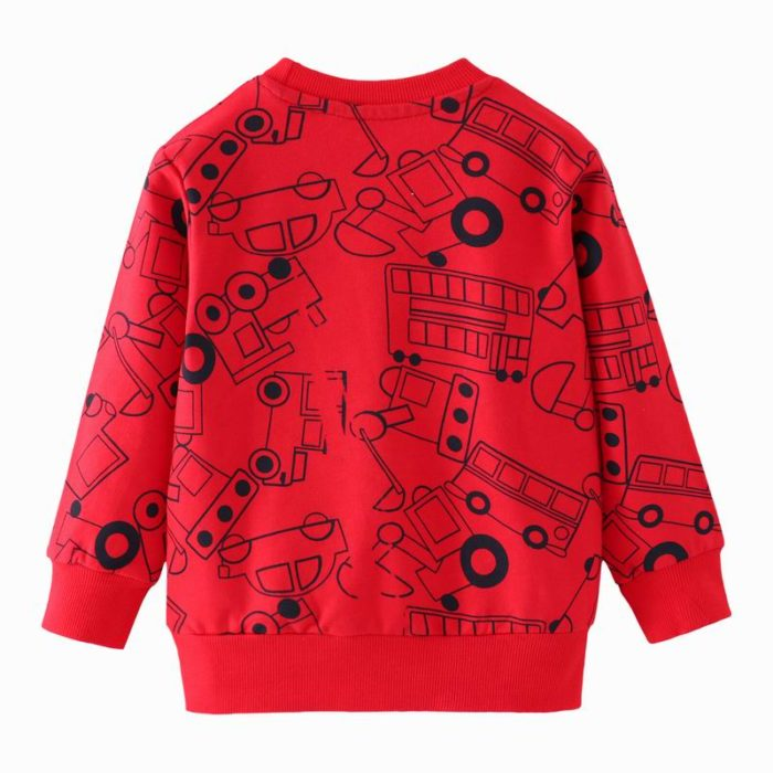 Boys Sweater Cotton Clothing Wear