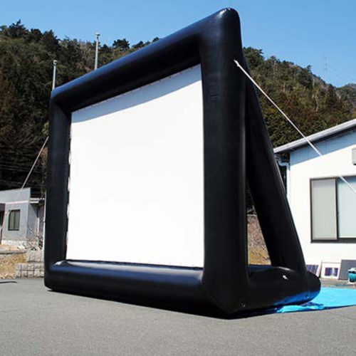 Inflatable Projector Screen Outdoor Screen