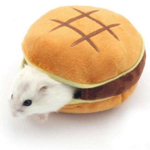 Guinea Pig Bed Burger Design
