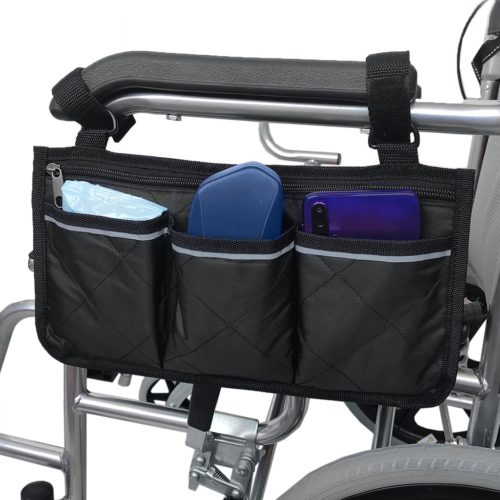 Wheelchair Bag Multi-Pocket Pouch
