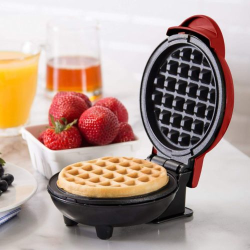 Mini Waffle Iron Non-Stick Appliance