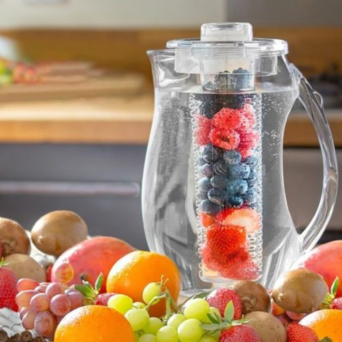Infusion Pitcher Fruit Infuser Water Jug