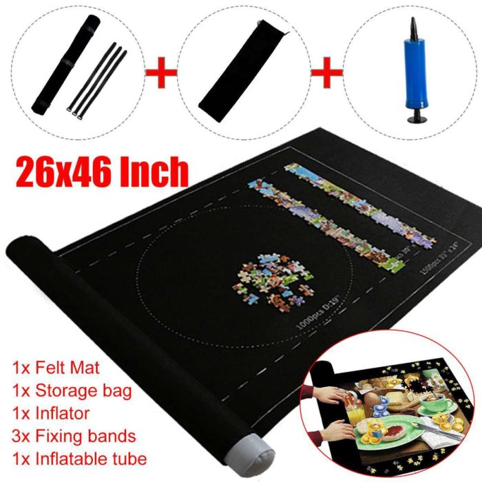 Puzzle Roll Up Mat for 1500-Piece Puzzle