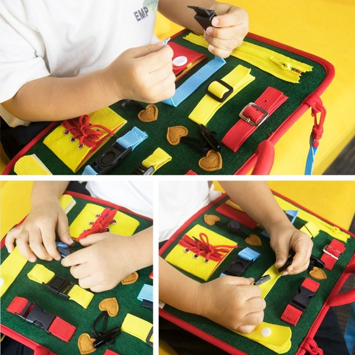 Busy Board Kids Activity Toy