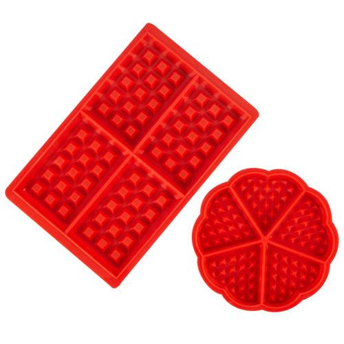 Silicone Waffle Mould Non-Stick (2pcs)