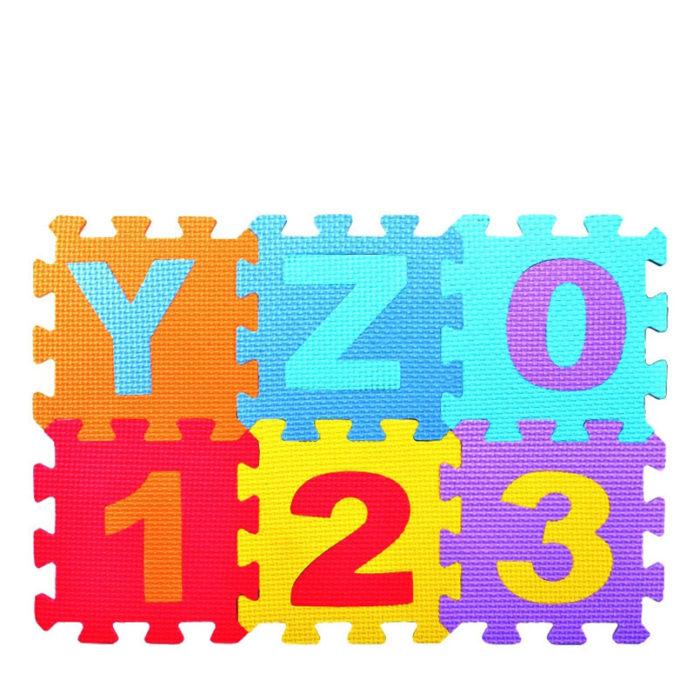 Foam Puzzle Mat 36PCS Toy Set