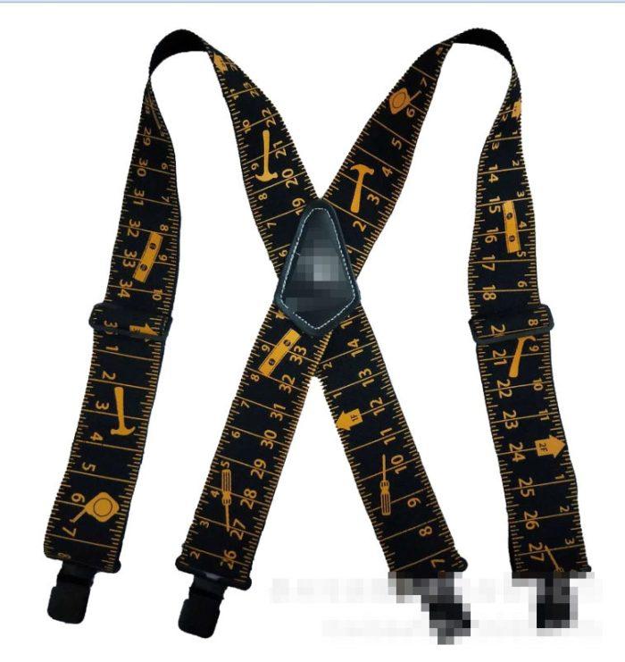 Tool Belt Suspenders Adjustable Size
