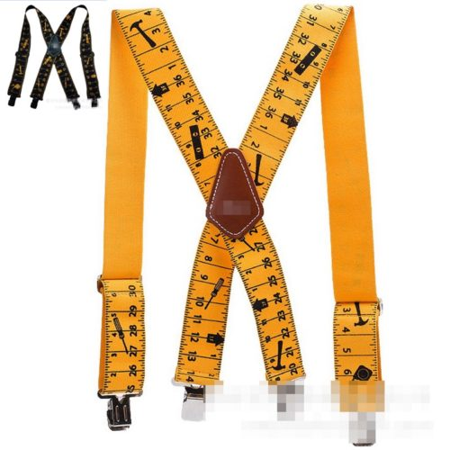 Tool Belt Suspenders Adjustable Size