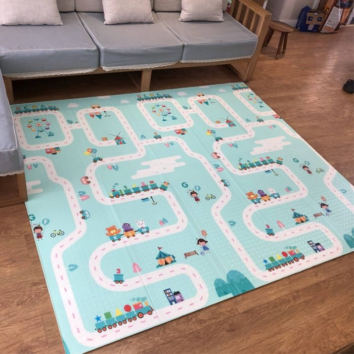 Baby Floor Mat For Crawling Foldable Mat