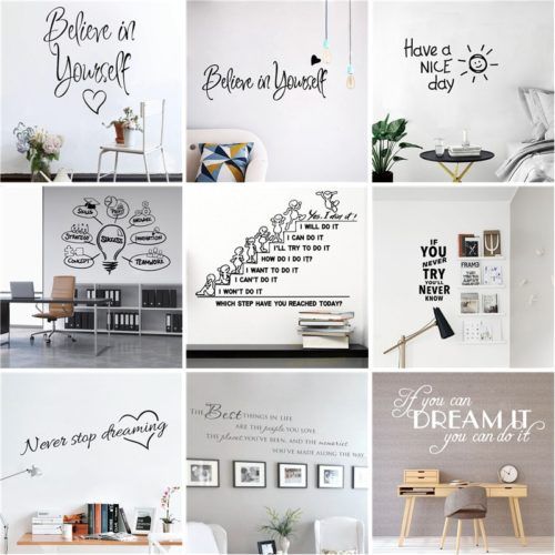 Wall Quotes Decoration Sticker
