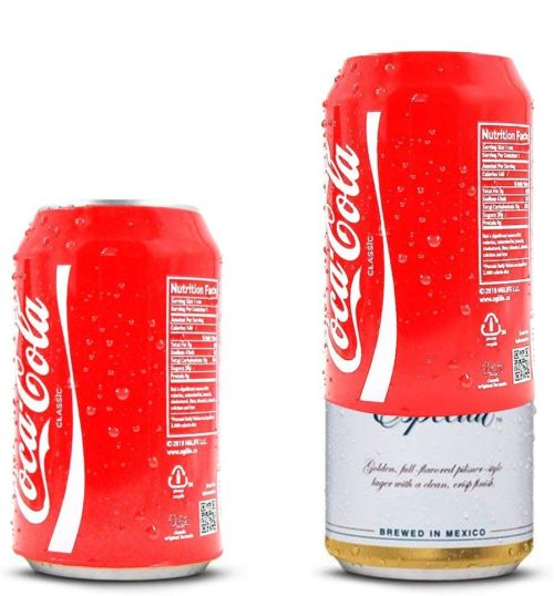 Coke Beer Can Cover Hide Beer