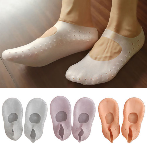 Gel Socks Moisturizing Heal Cracked Heels