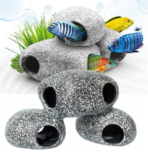 Aquarium Cave Fish Tank Accessory