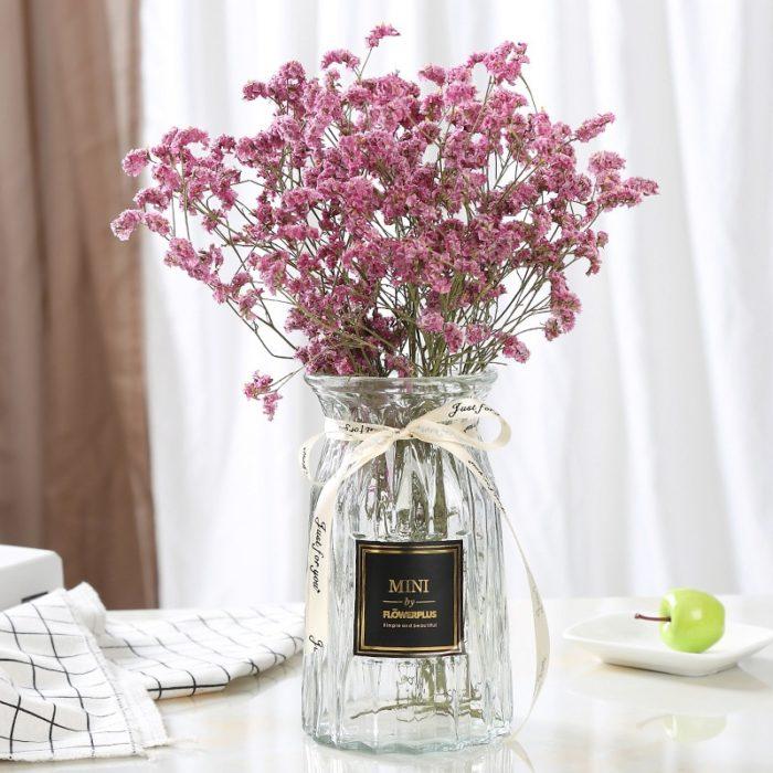Glass Flower Vase Home Decoration
