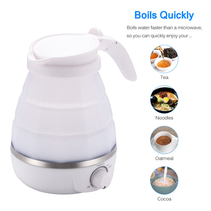 Collapsible Kettle Portable Water Heater