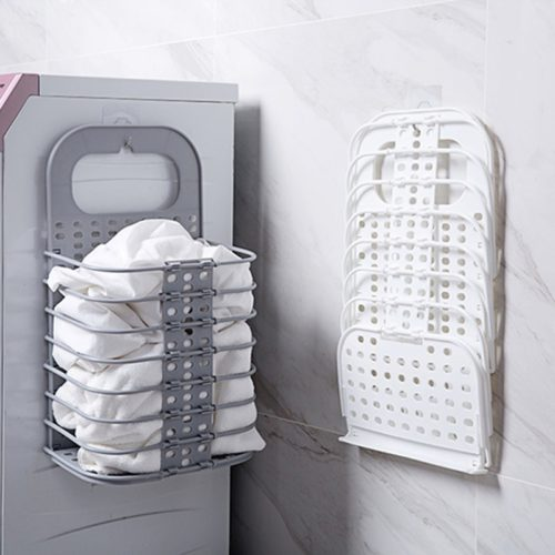 Foldable Hanging Laundry Basket