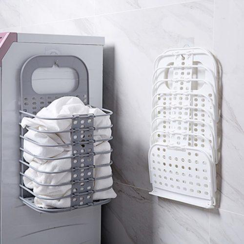Foldable Hanging Laundry Basket