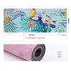 Yoga & Pilates Mat Printed Fitness Mat