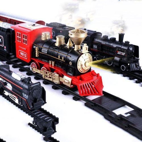 Electric Train Set with Train Tracks