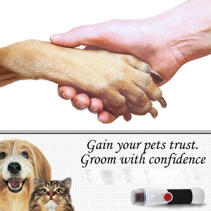 Dog Nail File Grooming Tool