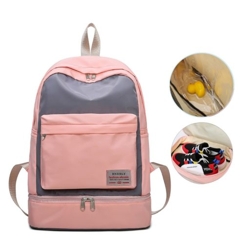Unisex Gym Backpack With Shoe Compartment