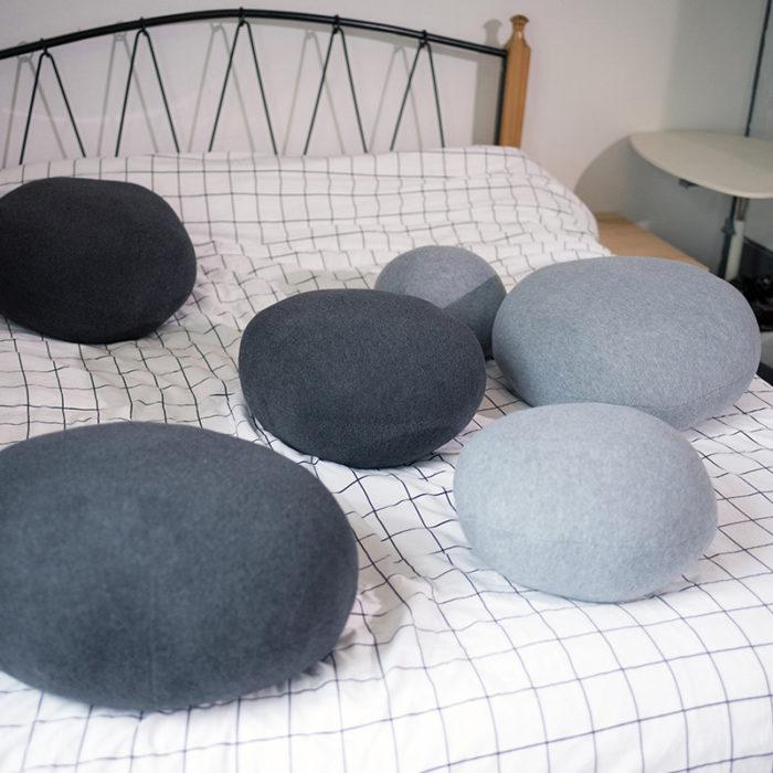 Stone Pillow Cushion Plush Decor