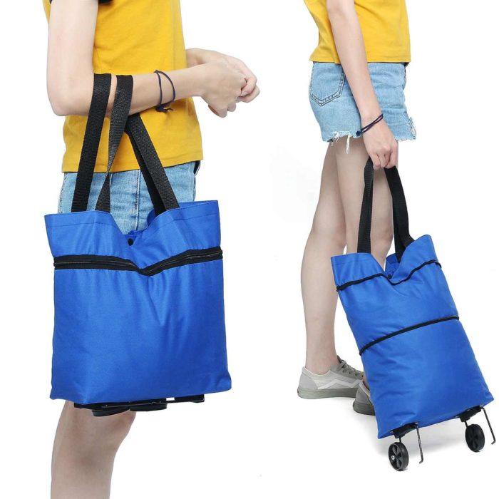 Foldable Shopping Trolley Portable Cart