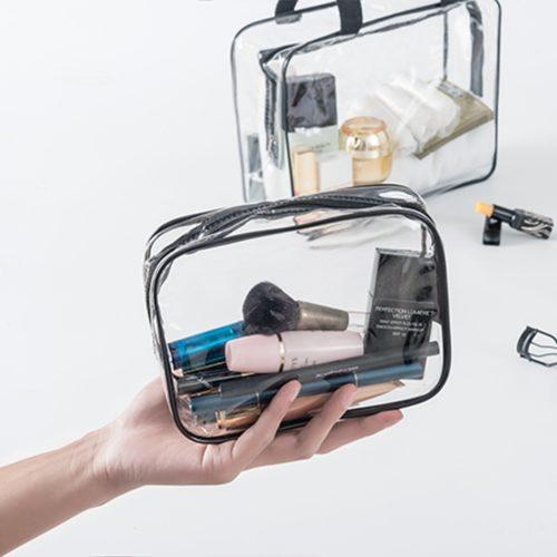Transparent Pouch Travel Toiletries Bag