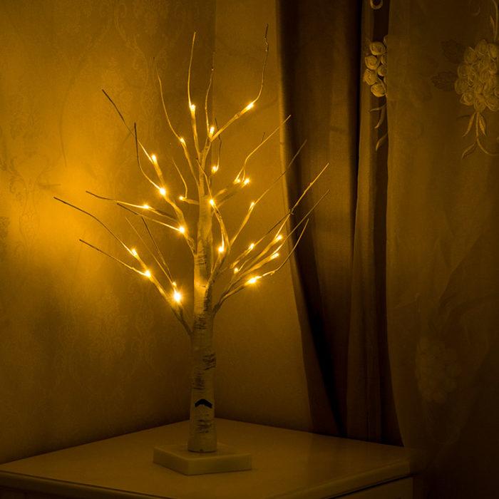 LED Tree Light Night Lamp
