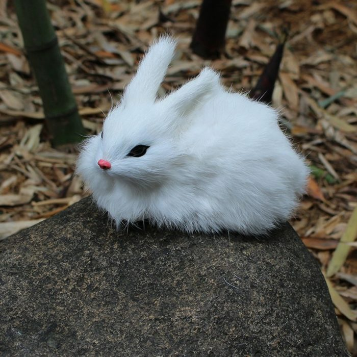 Rabbit Plush Outdoor Decoration