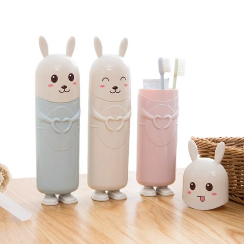 Travel Toothbrush Holder Rabbit Design