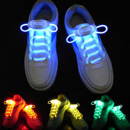 LED Shoelaces Fiber Light Up Ties