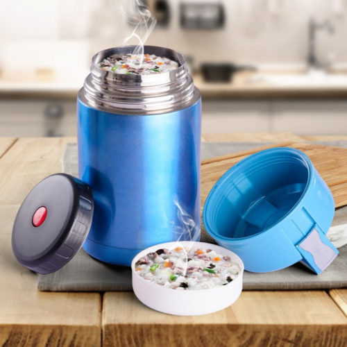 Thermos Soup Flask Portable Container